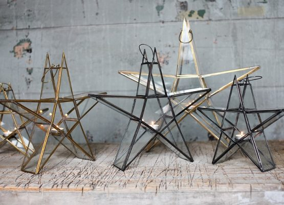 small-sanwi-hanging-standing-star-brass-lantern-tealight-candle-holder-nkuku