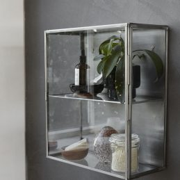 stainless-steel-wall-hanging-storage-cabinet-with-glass-door-by-house-doctor