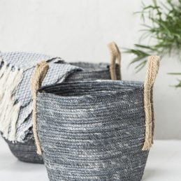 grey-round-basket-set-of-3-with-jute-handles-by-ib-laursen