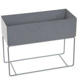 industrial-rectangle-grey-metal-plant-trough-stand-tobs
