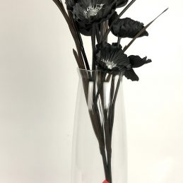 handmade-contemporary-clear-flower-glass-vase-bunch-bouquet-tall-50cm
