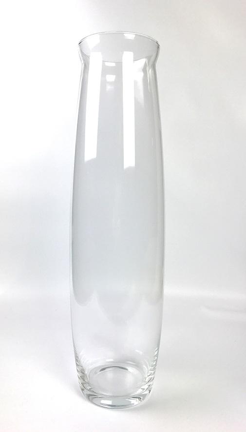 handmade-contemporary-clear-flower-glass-vase-bunch-bouquet-tall-50cm