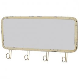 rectangular-cream-wall-hanging-mirror-with-4-hooks-by-originals