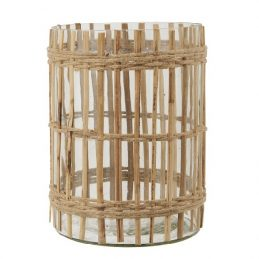 nice-tealight-holder-surrounded-by-bamboo-sticks-and-a-strong-rope-by-ib-laursen