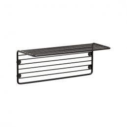 black-iron-wire-shelf-magazine-holder-for-wall-danish-design-by-hubsch