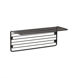 black-iron-wire-shelf-magazine-holder-for-wall-danish-design-by-hubsch