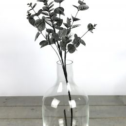 handmade-contemporary-clear-flower-glass-vase-bunch-bouquet-tall-35cm