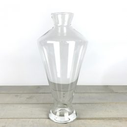 handmade-contemporary-clear-flower-glass-vase-bunch-bouquet-tall-40cm