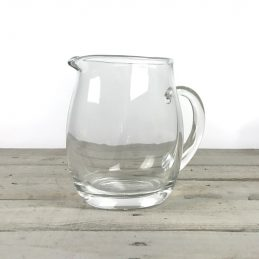 small-handmade-clear-glass-jug-pitcher-water-wine-juice-cocktail-16cm