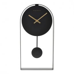 black-analogue-pendulum-wall-clock-by-house-doctor