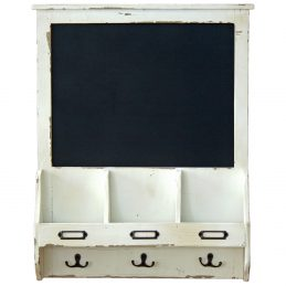 wall-mounted-white-wooden-storage-shelf-with-blackboard-and-hooks-by-originals