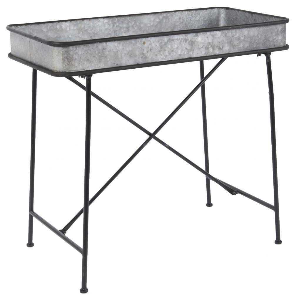 4b0bf7f5e33e Rectangular Metal Table  Garden Table by Ib Laursen