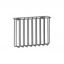 metal-magazine-holder-rack-in-black-for-wall-design-by-hubsch
