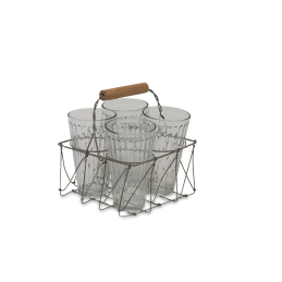 agar-small-glass-tea-set-in-wire-metal-basket-holder-crate-by-nkuku