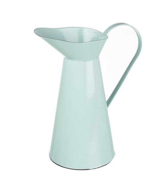 large-enamel-blue-display-jug-pitcher-hedley-tall-34-cm-parlane