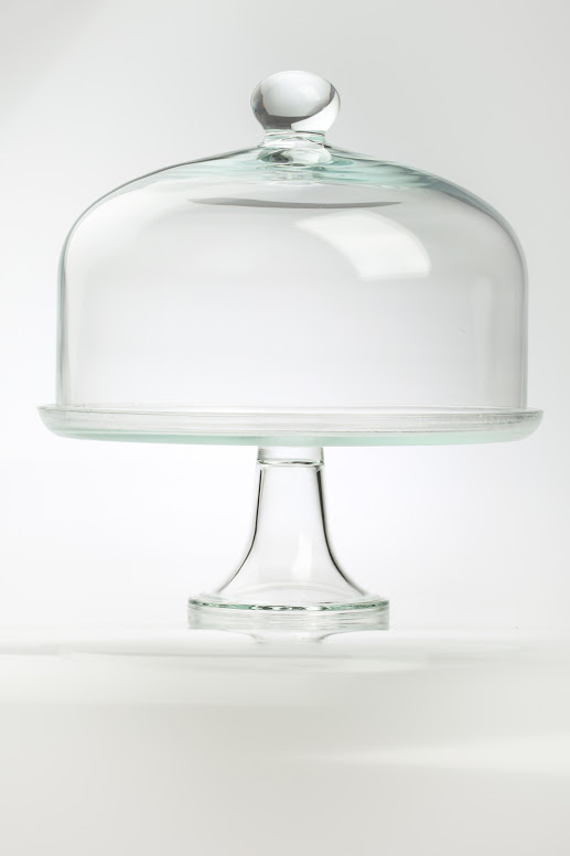 large-display-clear-glass-cake-stand-with-glass-design-dome-cover-lid-35-cm