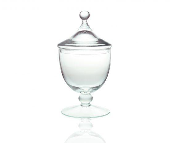 footed-glass-jar-cookie-sweet-bonbon-storage-jar-bowl-with-lid