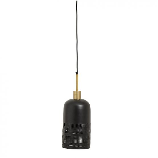 hanging-ceiling-hanging-black-shade-lamp-with-brass-by-nordal