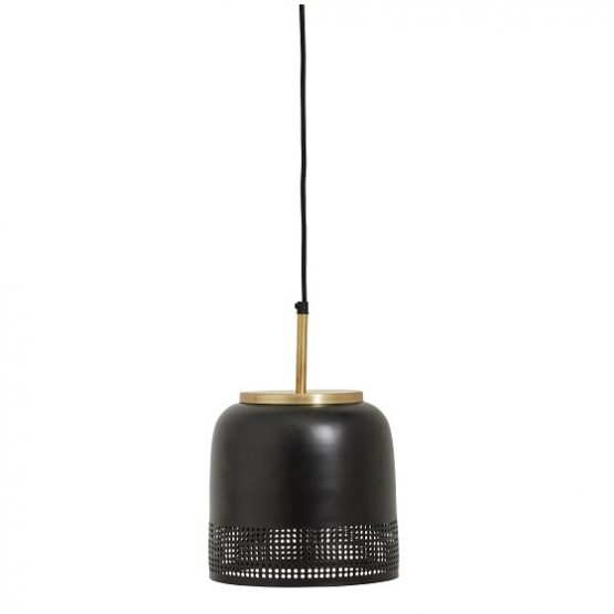 large-hanging-ceiling-black-shade-lamp-with-brass-by-nordal