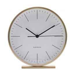hannah-gold-table-clock-diameter-15-cm-by-house-doctor