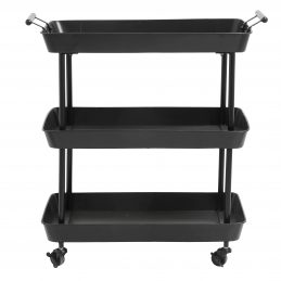 black-iron-trolley-on-wheels-danish-design