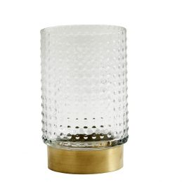 clear-glass-ring-vase-with-brass-bottom-danish-design