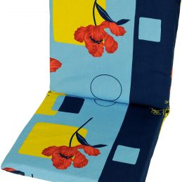 garden-chair-cushion-pad-replacement-100-cotton-109-cm-x-45-cm-poppy-flowers