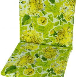 garden-chair-cushion-pad-replacement-100-cotton-109-cm-x-45-cm-spring-flowers