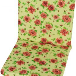 garden-chair-cushion-pad-replacement-100-cotton-109-cm-x-45-cm-garden-roses
