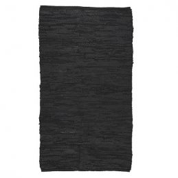 black-leather-rug-70-x-120-cm-by-ib-laursen
