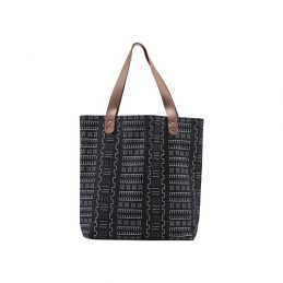 nice-bag-black-and-the-white-bohemian-pattern-with-the-brown-strap-by-house-doctor