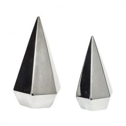 modern-silver-ceramic-christmas-tree-set-of-2-danish-design-by-hubsch