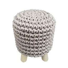 round-grey-knitted-pouffe-padded-footstool-by-home-interiors
