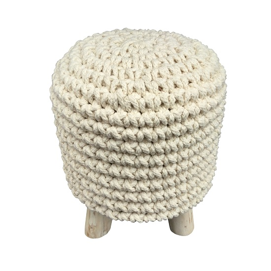round-beige-knitted-pouffe-padded-footstool-by-home-interiors