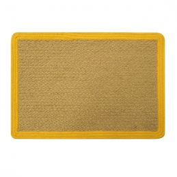 jute-cotton-rectangle-placemats-table-mats-coasters-yellow-32x45cm-by-home-interiors