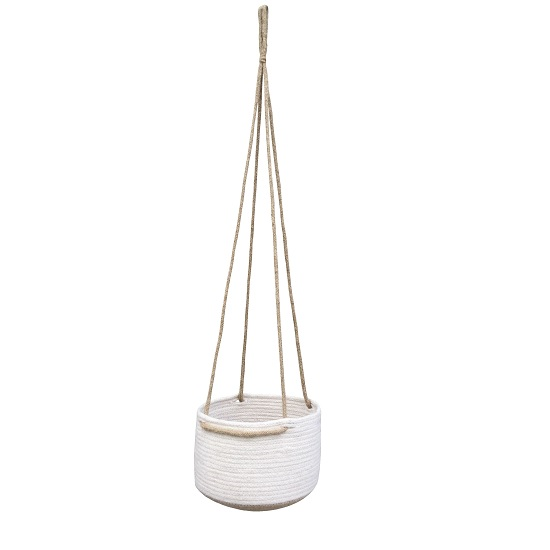 hanging-plant-pots-jute-cotton-planter-basket-with-rope-by-home-interiors