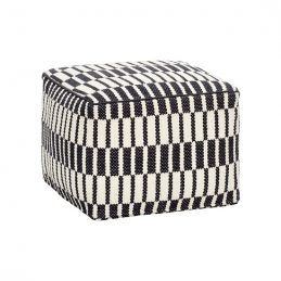square-cotton-pouffe-in-black-white-pattern-danish-design-by-hubsch