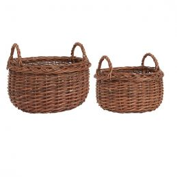 willow-round-basket-with-handle-set-of-2-danish-design-by-ib-laursen