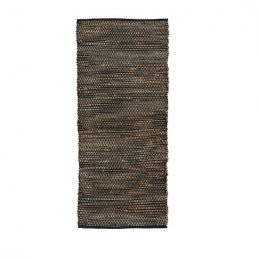 black-rug-cotton-jute-180-x-60-cm-by-ib-laursen