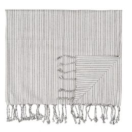 large-hammam-towel-with-fringes-white-with-anthracite-pattern-160-x-106-cm-by-ib-laursen