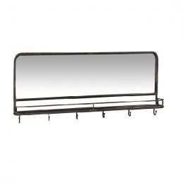 black-coat-rack-with-mirror-6-hooks-by-ib-laursen