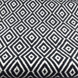 100-cotton-black-white-rug-120-x-180-cm-by-indra
