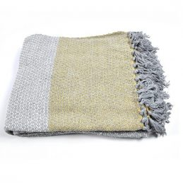100-cotton-sofa-bed-grey-yellow-throw-blanket-130-x-150-cm-by-indra