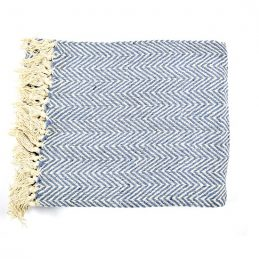 100-cotton-sofa-blue-white-zigzag-pattern-throw-blanket-130-cm-x-150-cm