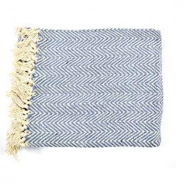 100-cotton-sofa-blue-white-zigzag-pattern-throw-blanket-130-cm-x-150-cm