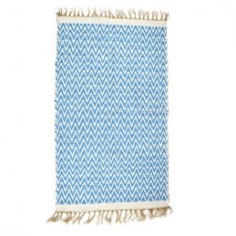 cobalt-jute-recycled-cotton-reversible-rug-70-x-115-cm-by-indra