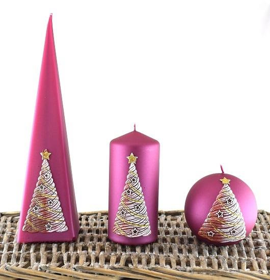 christmas-candles-set-of-3-burgundy-winter-tree