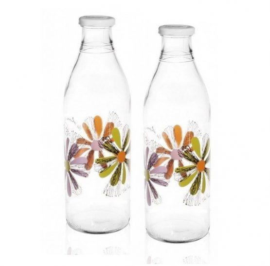 butelka kwiatki
