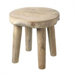 round-miilking-stool-natural-wood-by-parlane