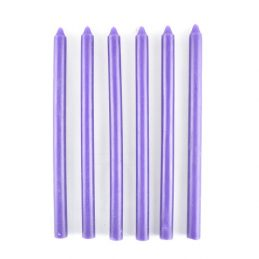 set-of-10-unscented-dark-purple-pillar-candles-perfect-for-lantern-or-dinner-table-20-cm